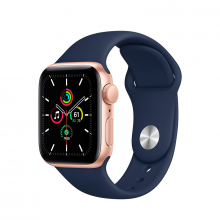 APPLE WATCH SE GPS 40MM ALUMINIO GRIS ESPACIAL CORREA DEPORTIVA