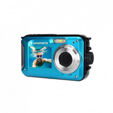 AGFA WP8000 Cámara Sumergible 3M Doble pantalla Blue 24MP