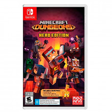 MINECRAFT DUNGEONS HERO EDITION NINTENDO