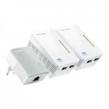 Tp-Link WPA4220T Kit 3 Unidades Power Line Wifi Range