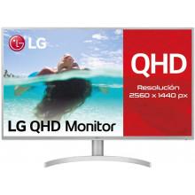 "LG MONITOR 31.5"" 32QK500-C QHD IPS GRIS-BLANCO 008KMJQY4828"