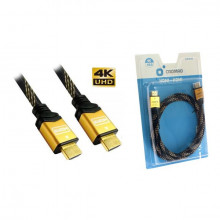 CROMAD CABLE HDMI 1.5 METROS V2.0 4K BLISTER