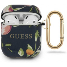 Guess Funda AirPods Floral Negro