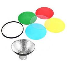Godox AD-R14 Reflector con panal y 5 filtros de color