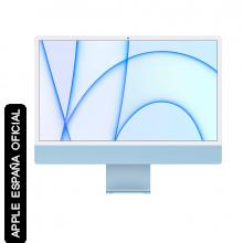 """iMac 24"""" RETINA 4.5K Apple M1 GPU 7 NÚCLEOS 8GB 256GB"""