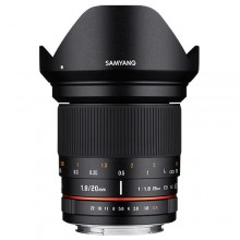 Samyang 20mm f/1.8 ED AS UMC