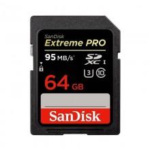 SanDisk Tarjeta Extreme PRO SDHC 64GB 95MB/s