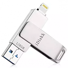 IDiskk 64GB USB 3.0 Pendrive compatible con Apple