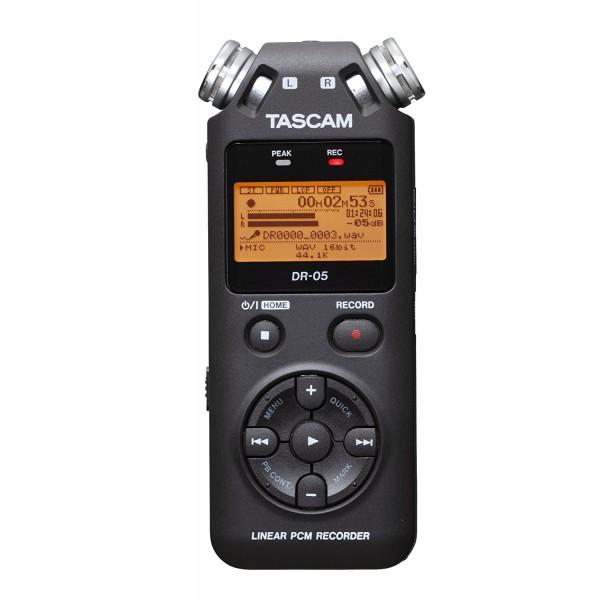 Tascam DR-05X  Dictáfono, Grabadora de Voz