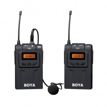 BOYA BY-WM6 Micrófono Lavalier Inalámbrico UHF