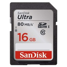 SanDisk SDSDUNC-016G Ultra Tarjeta SDHC 16GB 170Mb/s C10