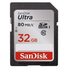 SanDisk SDSDUNC-032G Ultra Tarjeta SDHC 32GB 80Mb/s C10