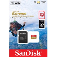 SanDisk Extreme Pro SDSQXAF-032G Tarjeta MicroSDXC 100MB/s A1 Clase 10