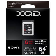 Sony tarjeta de memoria XQD 64GB 440R/400W