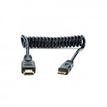 ATOMOS CABLE Micro HDMI - Full HDMI Espiral 50 cm.