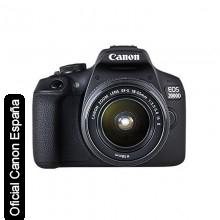 Cámara Réflex Canon EOS 2000D Kit + EF-S 18-55 IS II