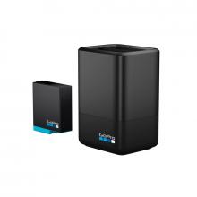 GoPro Cargador batería doble + batería (HERO8 Black/HERO7Black/HERO6 Black)